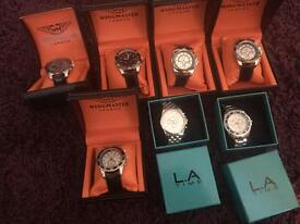 Lot. Brand new men's watches.
