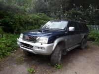 MITSUBISHI L200 BREAKING SPARE PARTS L200 FULL BOX HARD TOP