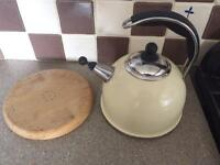 Aga kettle and stand