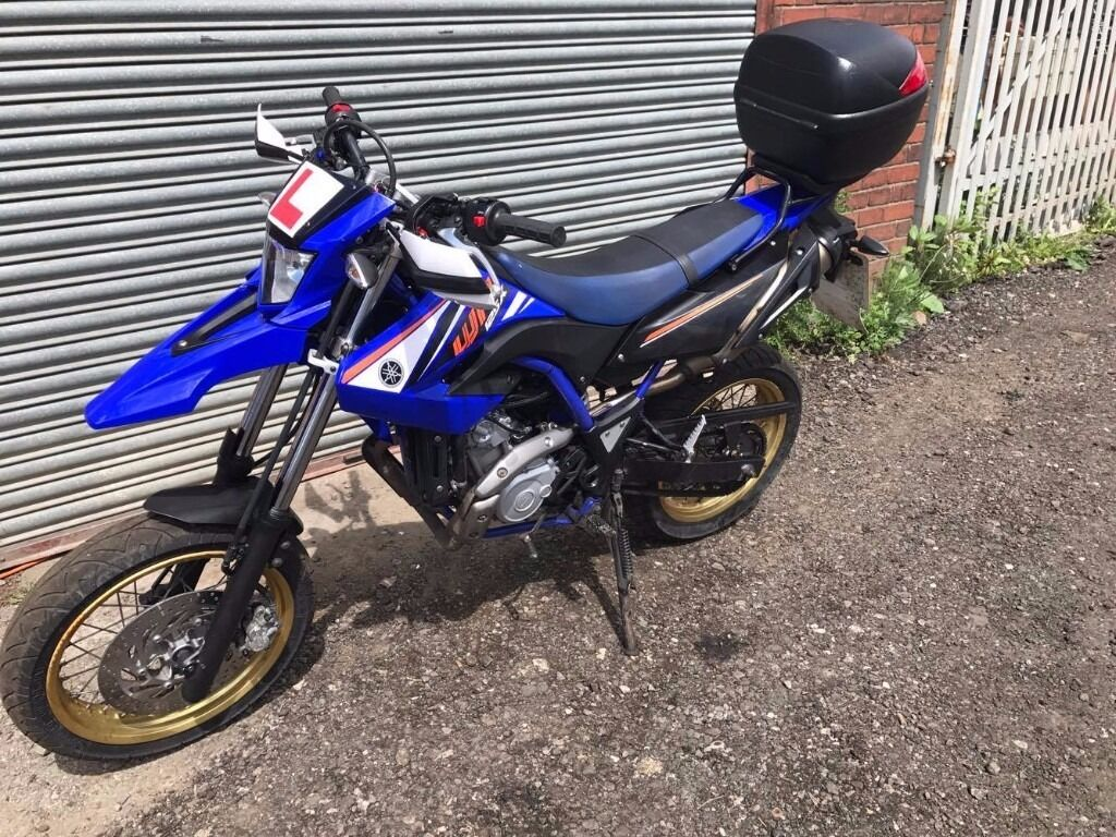 2012 yamaha wr 125 x wr125x blue supermoto in sherburn in elmet west yorkshire gumtree. Black Bedroom Furniture Sets. Home Design Ideas