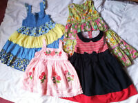 Summer dresses 2-3 years old