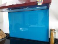 Deco Glaze glass oven splashback