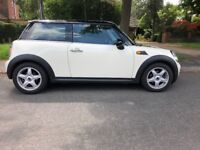 Mini Cooper 3dr Hatchback Petrol Pepper White 2007 R56 MOT 2019