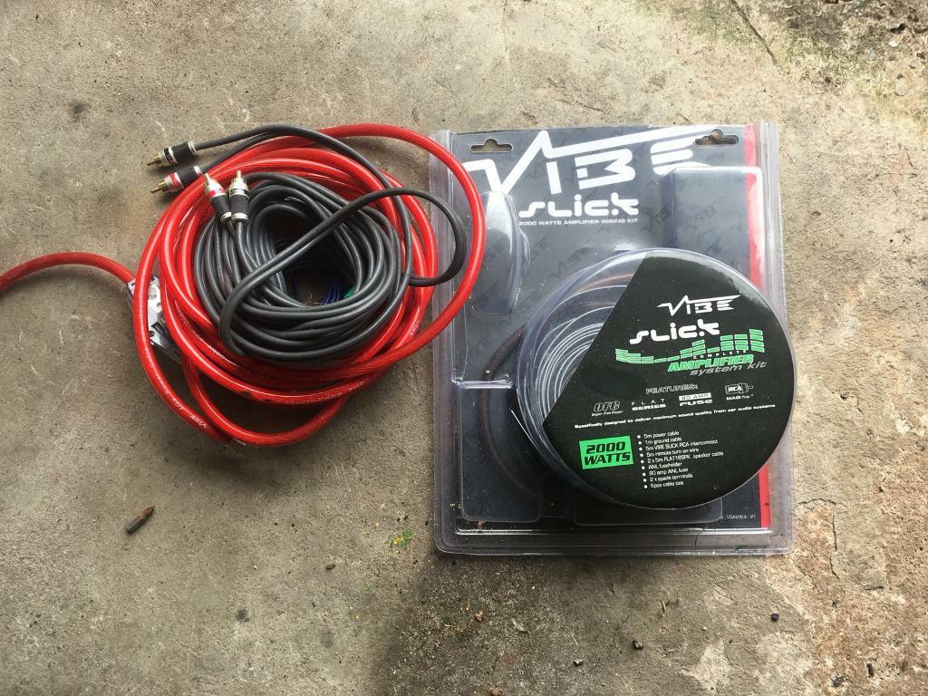 2000w Amp wiring kit - never used