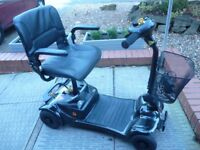 Electric Mobility Scooter. Ultralite 480. Lightweight. Black.