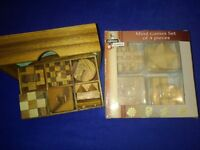 10 WOODEN MIND GAMES (PUZZLES)