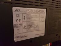 JVC - 26 inch HD ready television with remote control