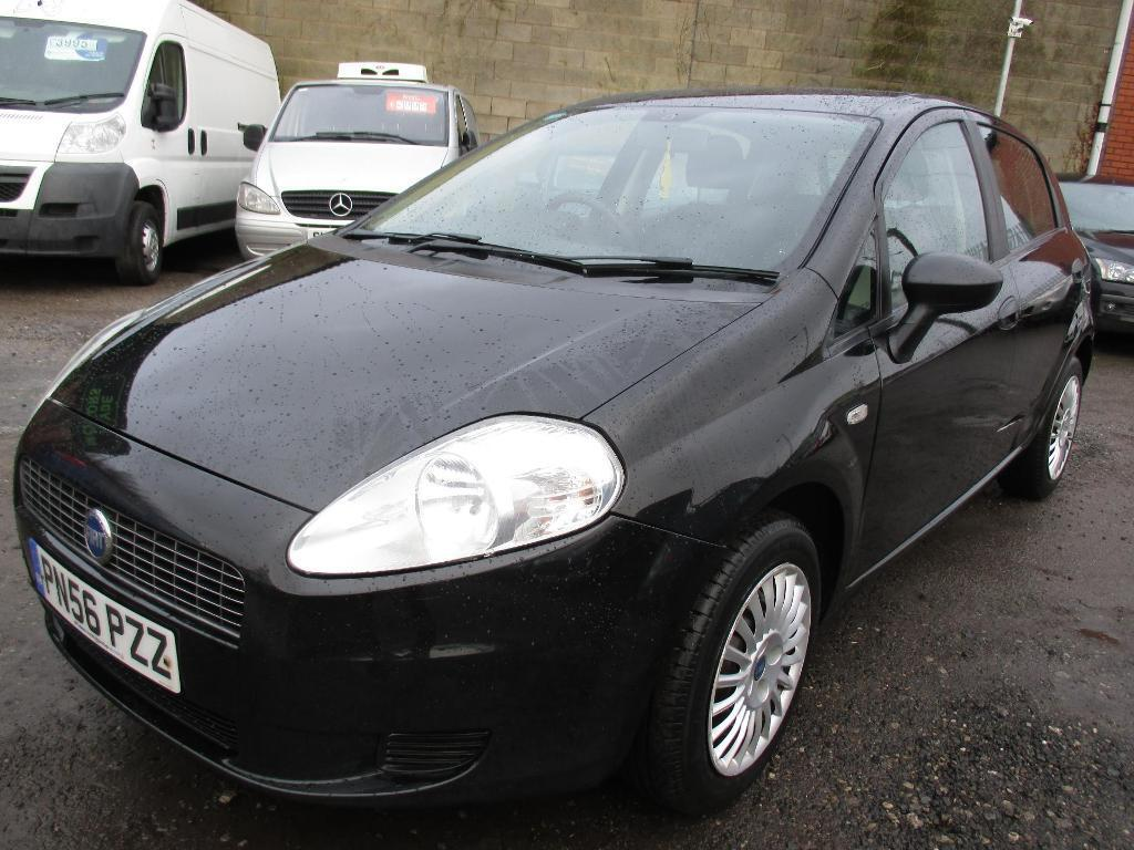 fiat grande punto 1 2 active 5dr black 2006 in hyde manchester gumtree. Black Bedroom Furniture Sets. Home Design Ideas