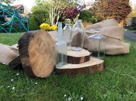 Rustic Wedding Decoration/ Wooden Slice for Table Centre Pices