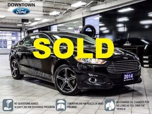 2014 Ford Fusion SE LUXURY PKG LEATHER HEATED SEATS BACKUP CAM
