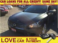 2011 Nissan Maxima SV * LEATHER * PWR ROOF * HTD PWR SEATS