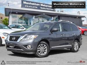 2013 NISSAN PATHFINDER SL AWD |7PASS|PHONE|LEATHER|NO ACCIDENT