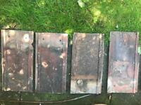 11 used large roof tiles