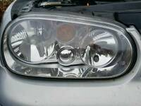 Vw golf mk4 front lights