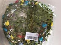 Flower headband garlands 3 x 9 packs