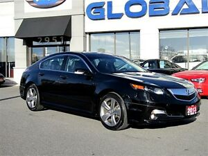 2013 Acura TL Base w/Technology Package RARE 6 SPEED MANUAL .