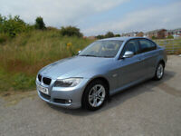 BMW 3 SERIES 318I ES SALOON STUNNING BLUE 2009 ONLY 84K MILES BARGAIN ONLY £3500 *LOOK* PX/DELIVERY