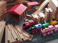 WANTED QUALITY CONDITION BRIO WOODEN TRAIN SET AND TOYS