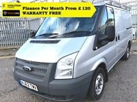 Ford Transit 2.2 300 / 140 HORSE Power , One Owner From New, Full Service History, 1YR MOT, Warranty