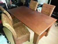 Dinning table and chairs. FREE delivery in Derby