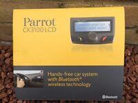 Parrott hands free car kit.