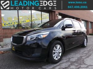 2016 Kia Sedona LX+ 8 passenger, Power doors, Back up cam