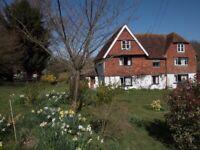 Large rooms in Kentish Farmhouse
