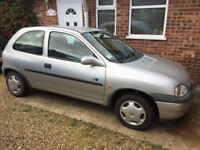 Vauxhall Corsa 1L V Plate 1999 Spares or Repairs Low Mileage, NO OFFERS