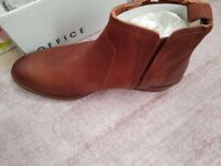 Brand new ladies leather boots size 6