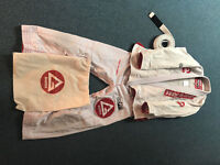 Gracie Barra Pro Lite Aero Gi size A1 with belt size A0 + free bag = £50
