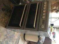 Hotpoint DSC 60 S S.1 freestanding oven 1 year old, quick sale required!