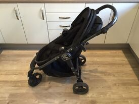 Baby Jogger City Versa GT, including flatbed & rain cover