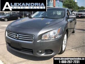 2014 Nissan Maxima 3.5SV/leather/sunroof/safety included