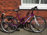 Muddyfox Synergy 26 Ladies Bike- Purple - Like New