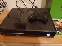 Xbox one +3games