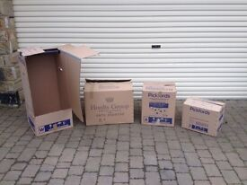 40 house removal packing boxes