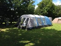Kampa Haling 6 Berth Tent with accessories