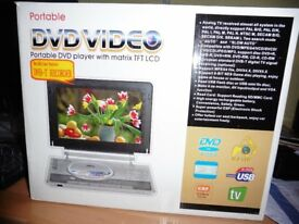 PORTABLE DVD PLAYER VIDEO