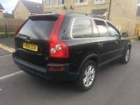 VOLVO XC90 D5 SE AWD SEMI-AUTO 7 SEATER LONG MOT OWNED 10YEARS S/H DRIVES BRILLIANT