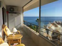 BEAUTIFUL 2 BEDROOM APARTMENT BEACH FRONT COSTA DEL SOL
