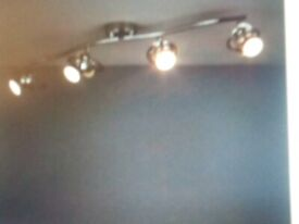 SPOTLIGHT BAR- 4 LIGHTS CHROME BRAND NEW IN BOX