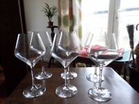 Wine glass - set of 6 - for sale £10.00 **never been used**