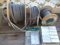 electric cabling, installation boxes