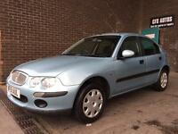 2001 ROVER 25 AUTOMATIC 5 DOOR *LOW MILEAGE ONLY 69000* MOT AUTO
