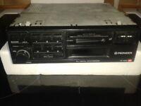 Pioneer stero cassett radio for car model KE1020