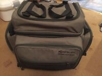 CARP FISHING KORUM ROVING RUCKSACK BACK PACK VARIOUS BITS INSIDE
