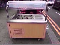 TOPPING FASTFOOD BUFFET SALAD BAR FRIDGE COMMERCIAL MACHINE CATERING RESTAURANT KITCHEN CAFETERIA