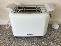 Breville White Toaster...hardly used