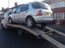 SCRAP CARS MOT FAILURES WANTED CASH PAYED