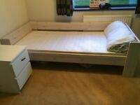 Kids Steens High to Low sleeper - great for small bedrooms to increase storage space.